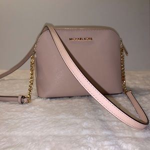 Michael Kors Cindy Leather Crossbody Bag